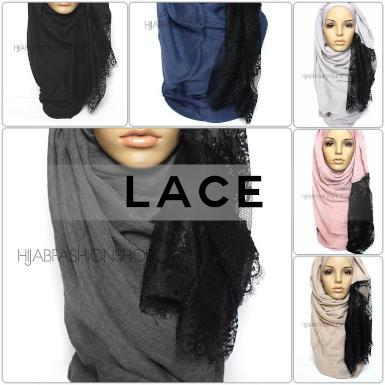 lace hijabs