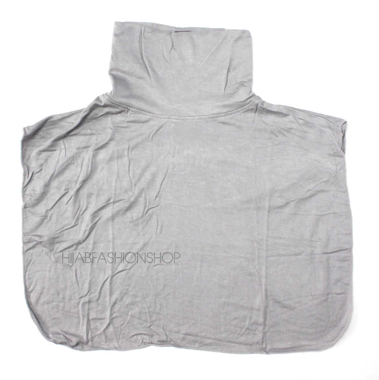 grey full neck cover