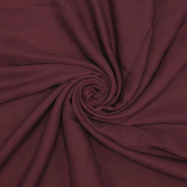 maroon cotton hijab