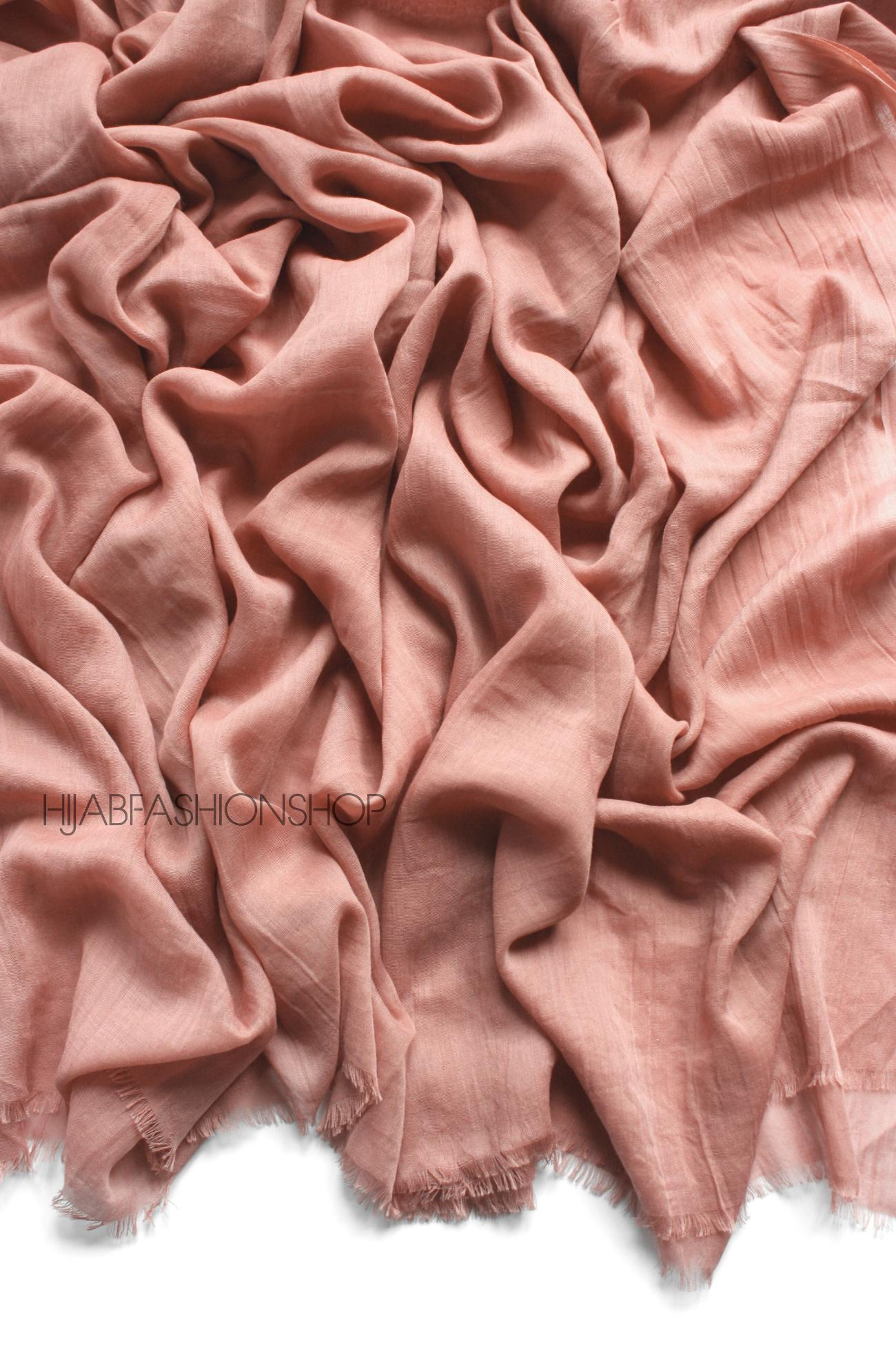 rose premium cotton hijab