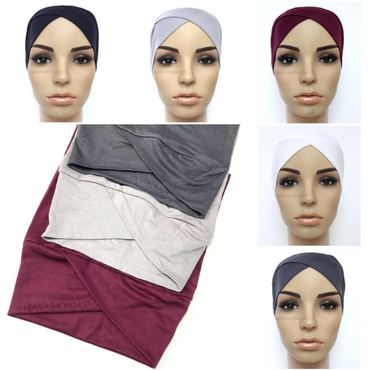 5 crossover tube hijab undercaps