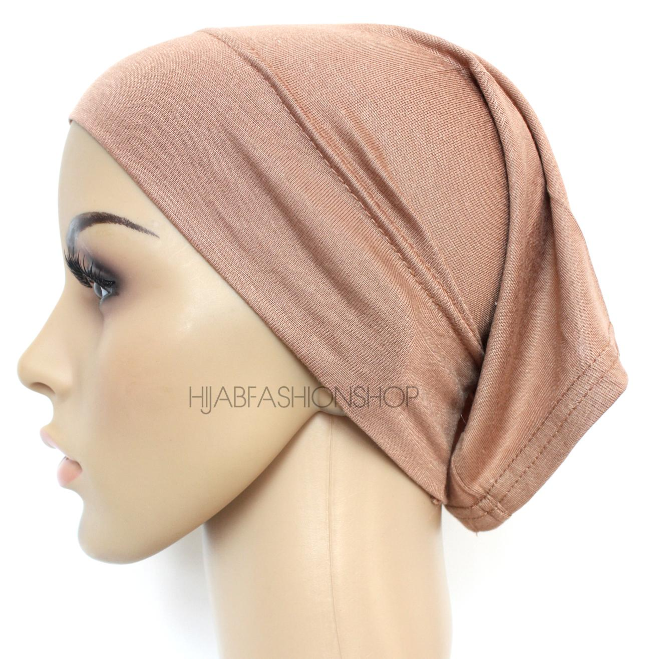 coffee tube hijab cap