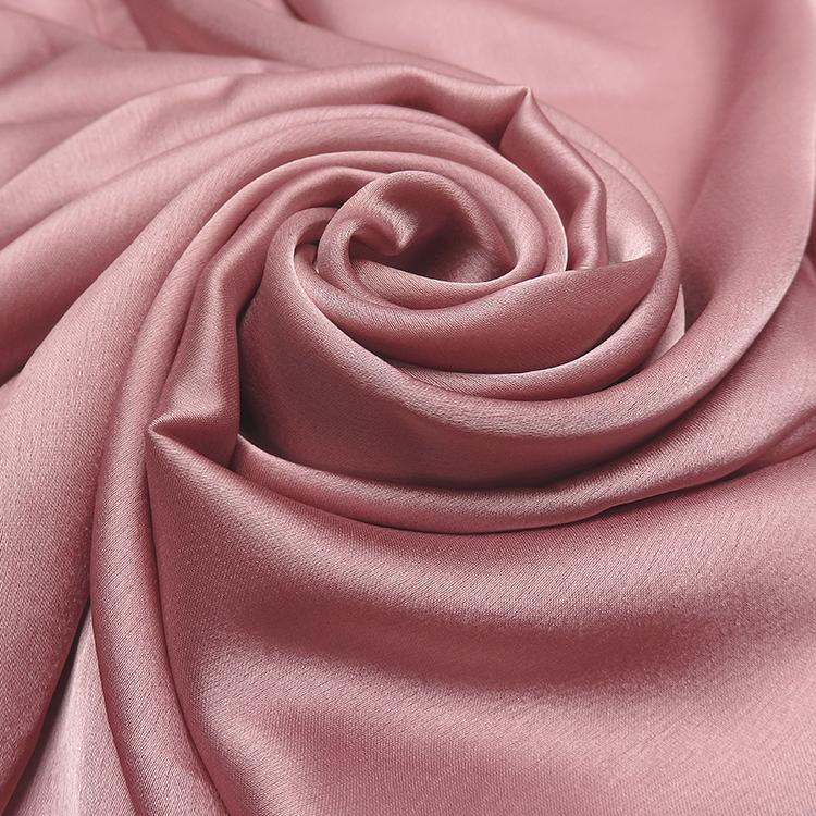 dusty pink satin silk hijab