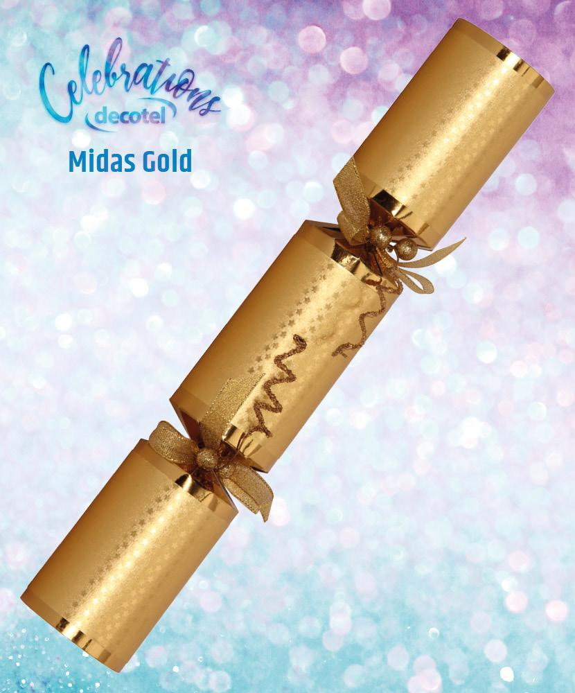 midas gold christmas cracker