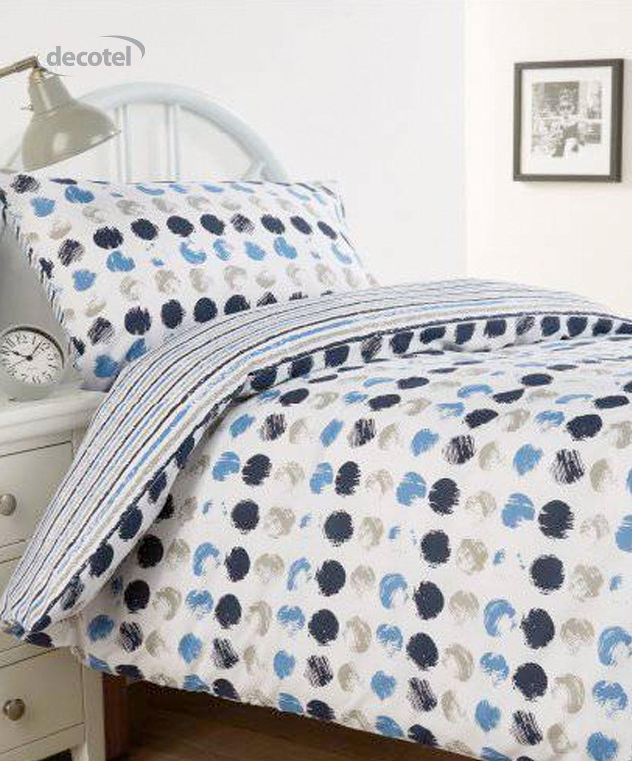 Harrow duvet cover in blue