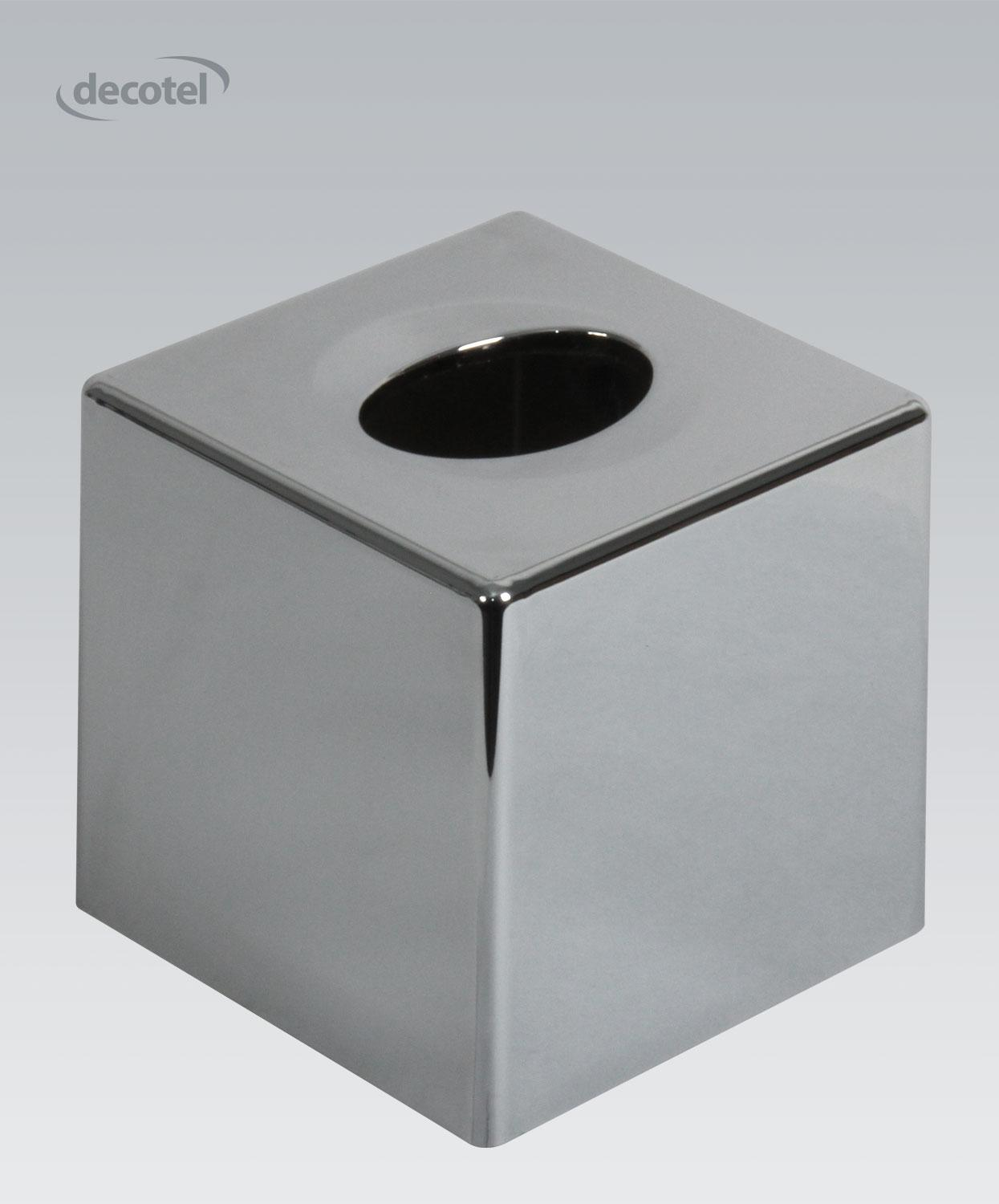 Cube Tissue Dispenser Chrome