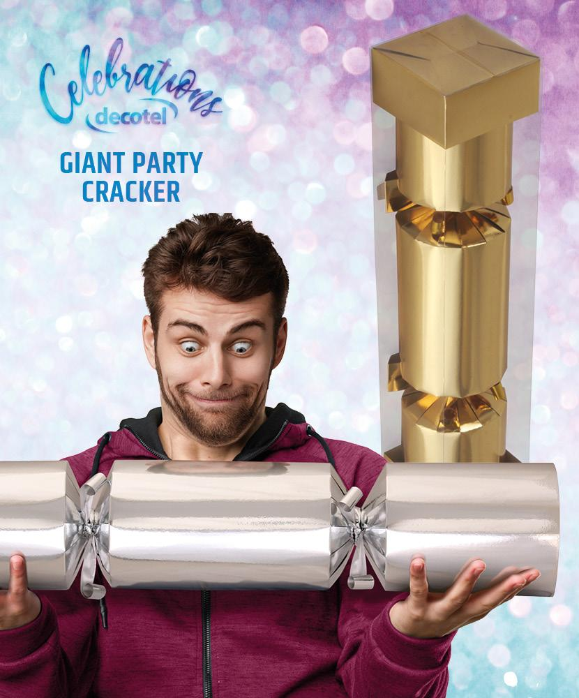 gold giant party cracker
