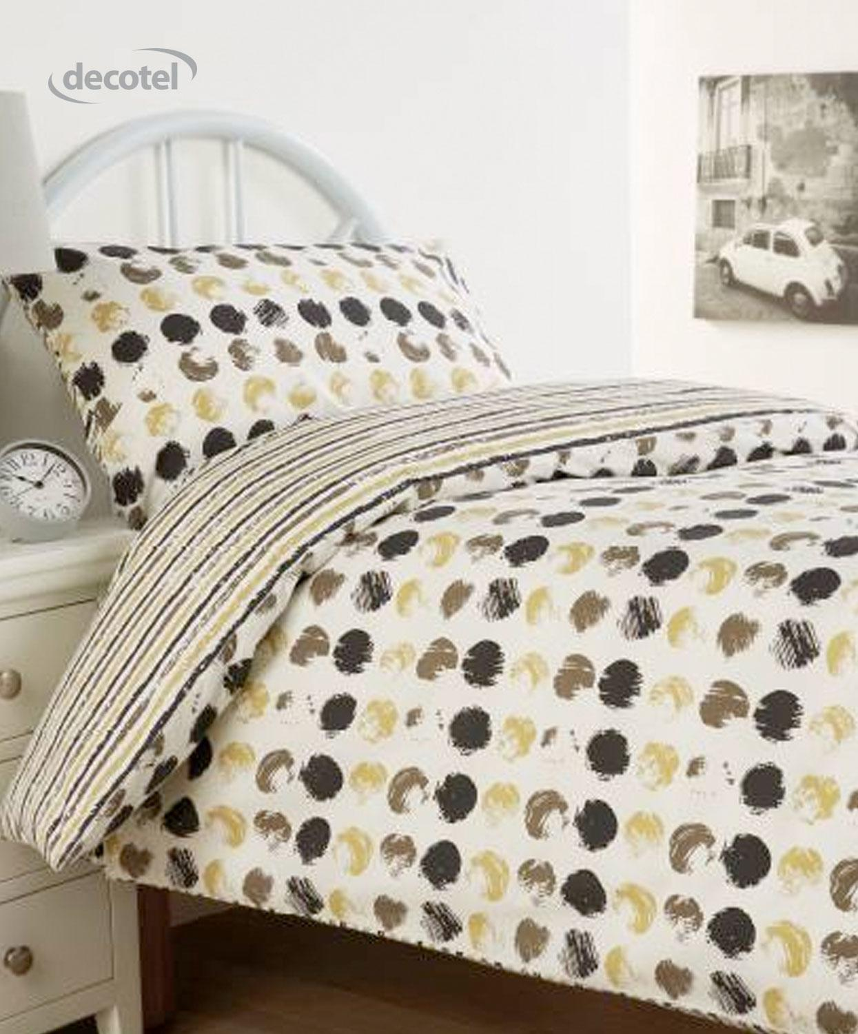 Harrow duvet cover in grey