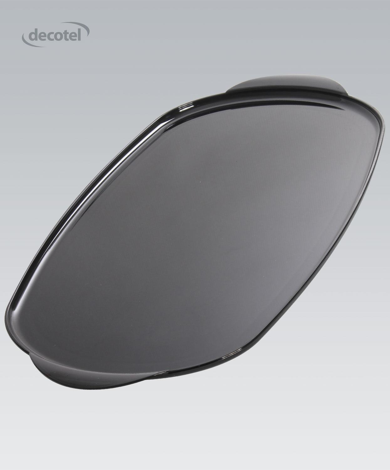 Viscount Large Oval Tray black
