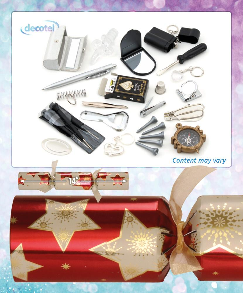 galaxy storm 14 christmas cracker contents