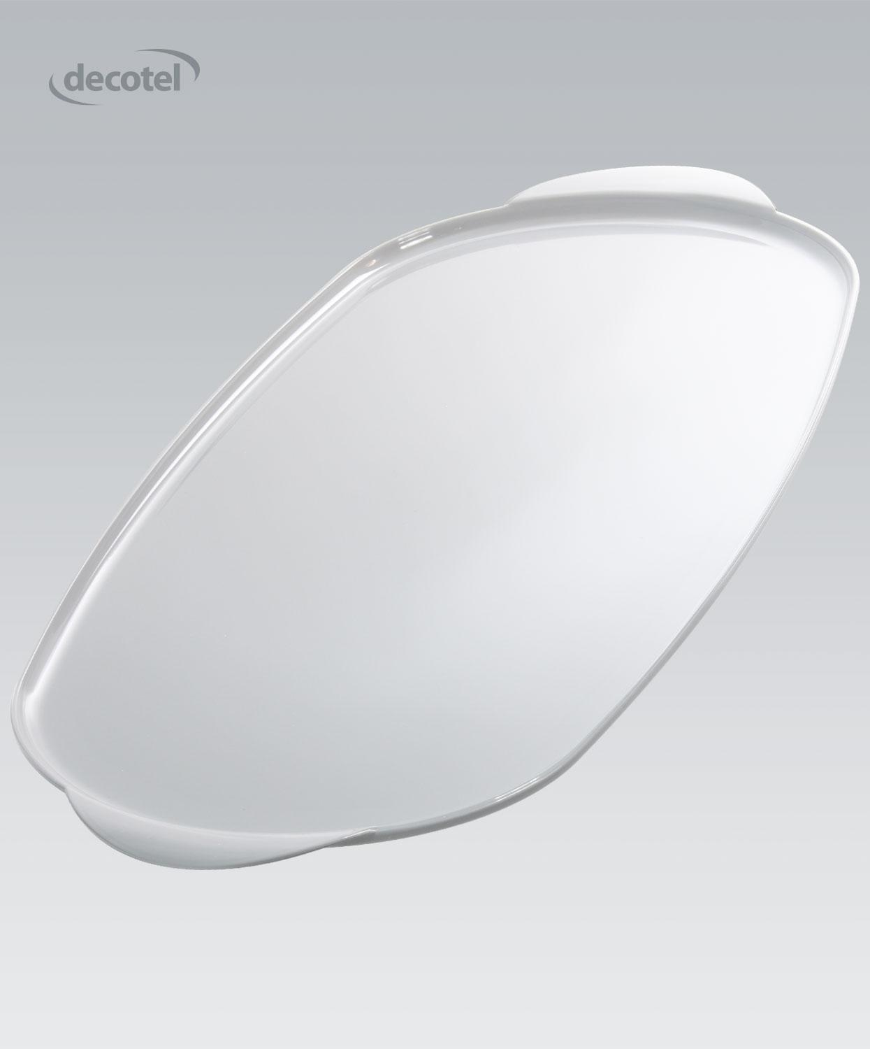 Viscount Large Oval Tray white