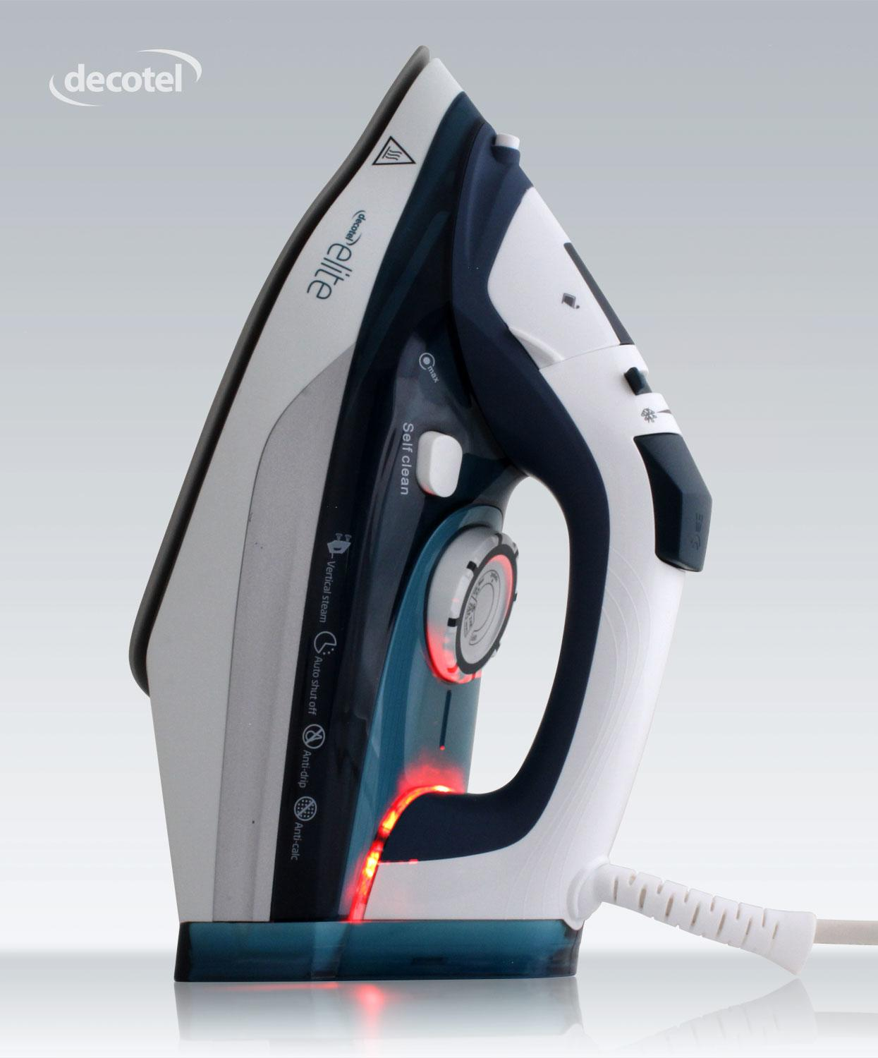 Decotel Elite Steam Iron for hotels