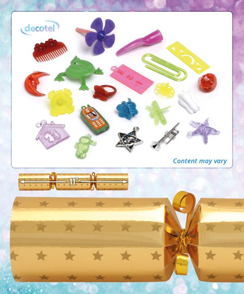 gold star christmas cracker contents