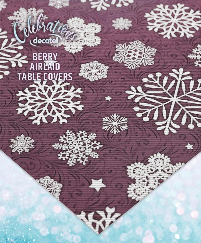 berry airlaid table covers