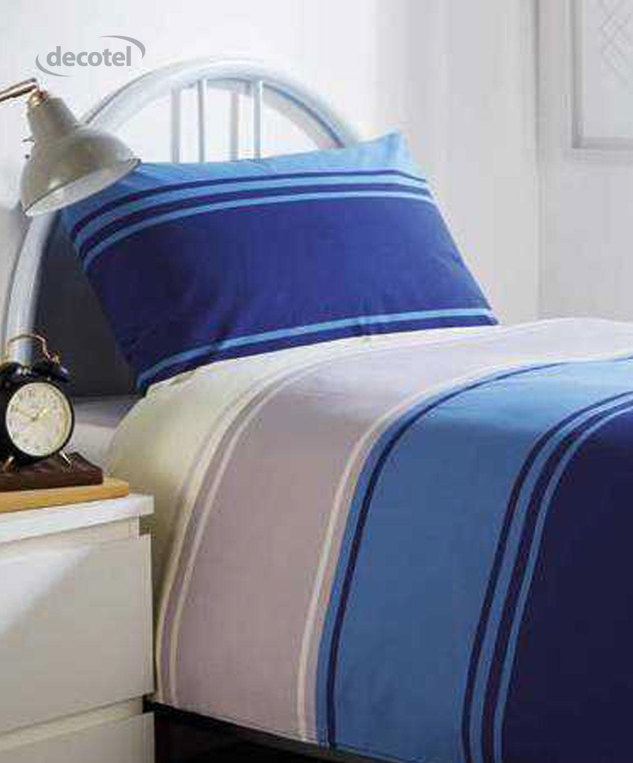 Chester duvet cover in blue
