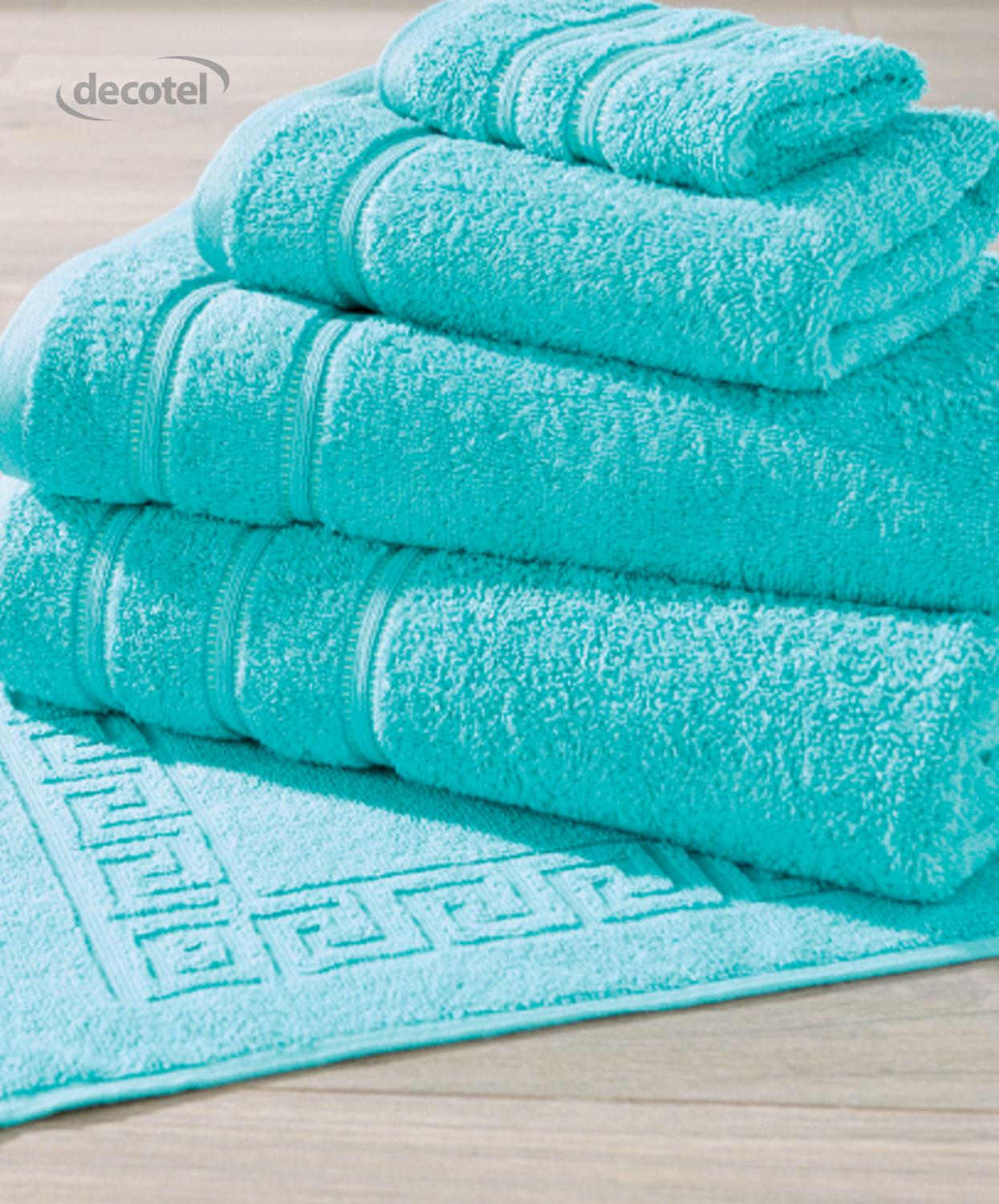 Eclipse towel in aqua