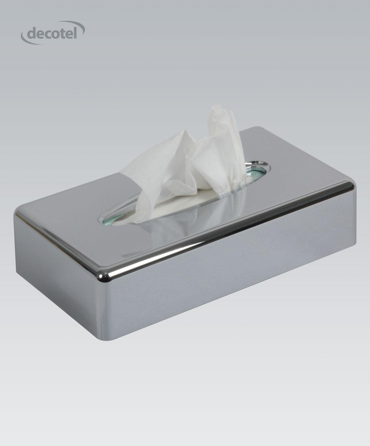 Flat Tissue Box Dispenser Chrome