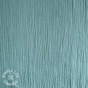 Organic cotton double gauze fabric