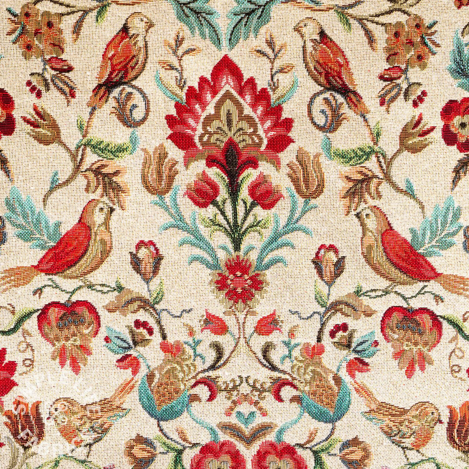 William Morris birds tapestry fabric