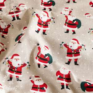 Father Christmas fabric uk
