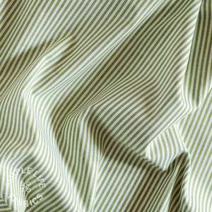 Striped cotton chambray fabric uk