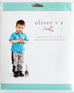 children's clothes pattern polo neck top and sweatpants