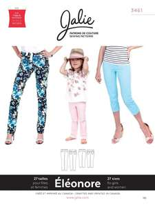 Jalie sewing patterns stretch jeans