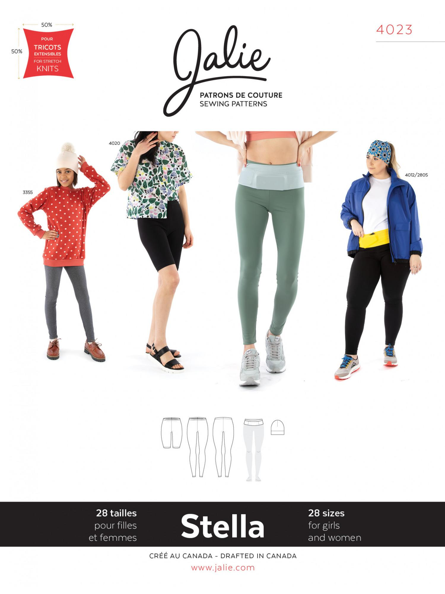 Jalie sewing pattern leggings