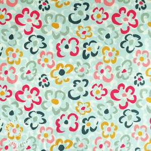Corduroy floral fabric uk