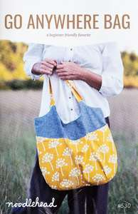 Noodlehead sewing pattern for the Go Anywhere bag