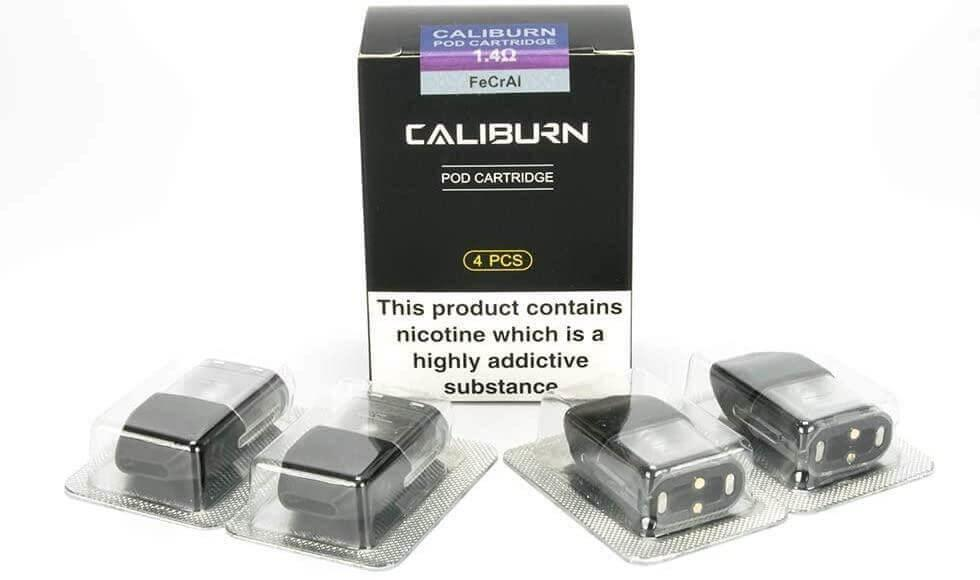 Uwell Caliburn Replacement Pod Cartridge - 4 Pack