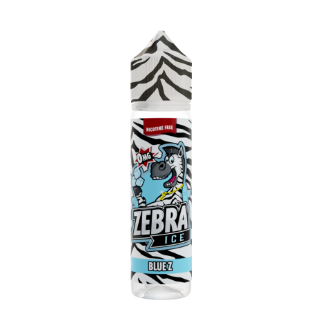 Blue Z 50ml Zebra Juice short fill