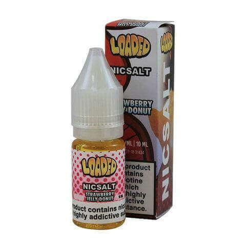 Strawberry Jelly Donut 10ml Loaded Nic Salt