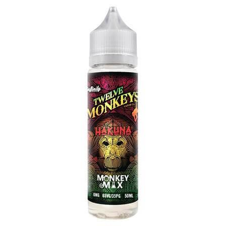 Hakuna 50ml Shortfill by Twelve Monkeys