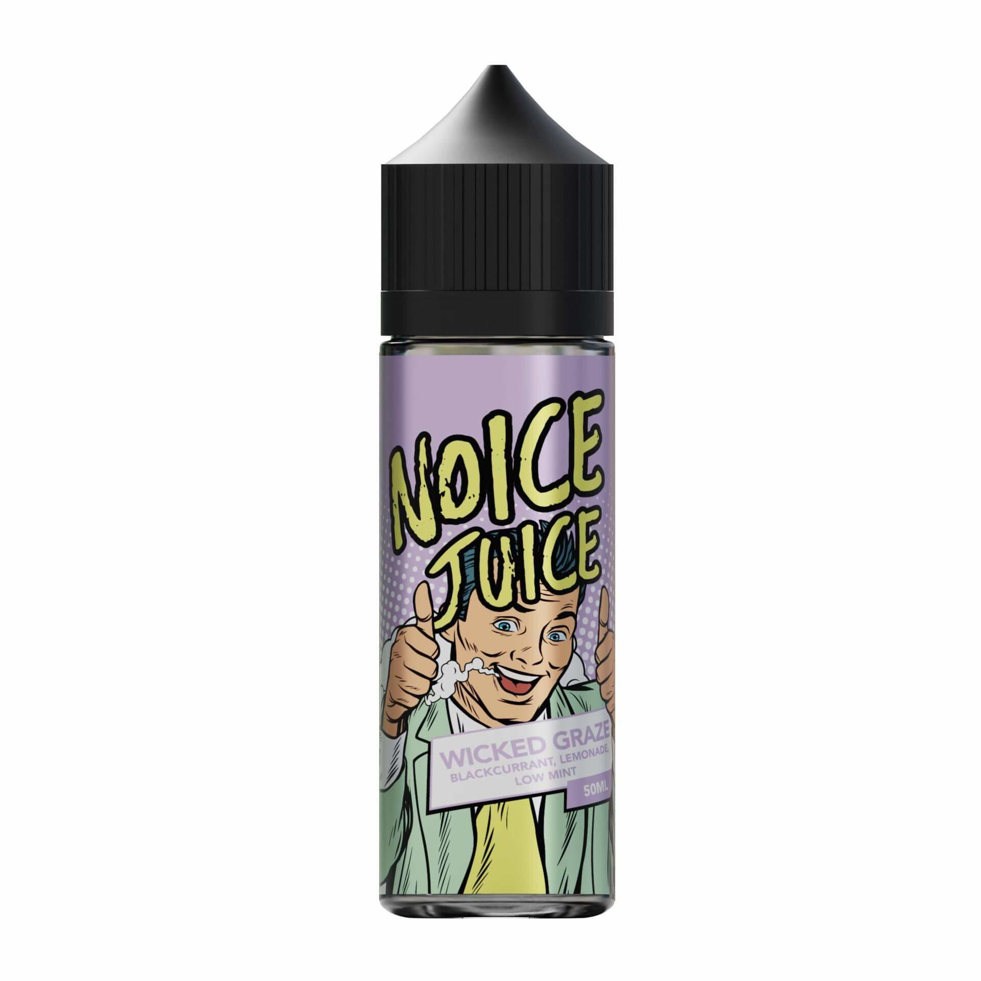 Wicked Graze Noice Range 0mg Short Fill E Liquid