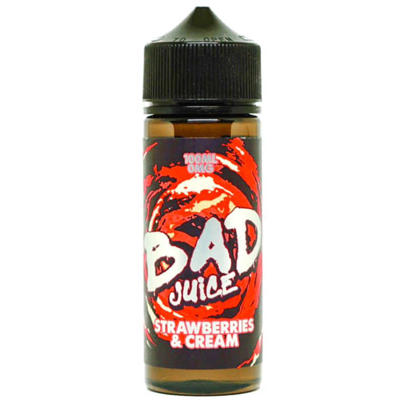 Bad Juice Strawberries and Cream Shortfill