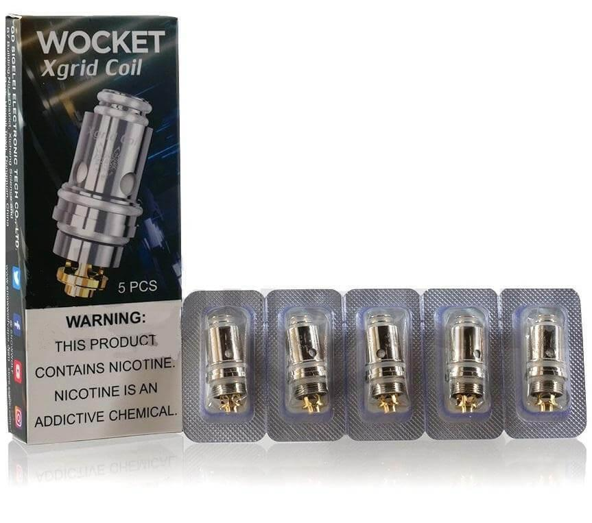Snow Wolf Wocket X Grid Coils 5 Pack