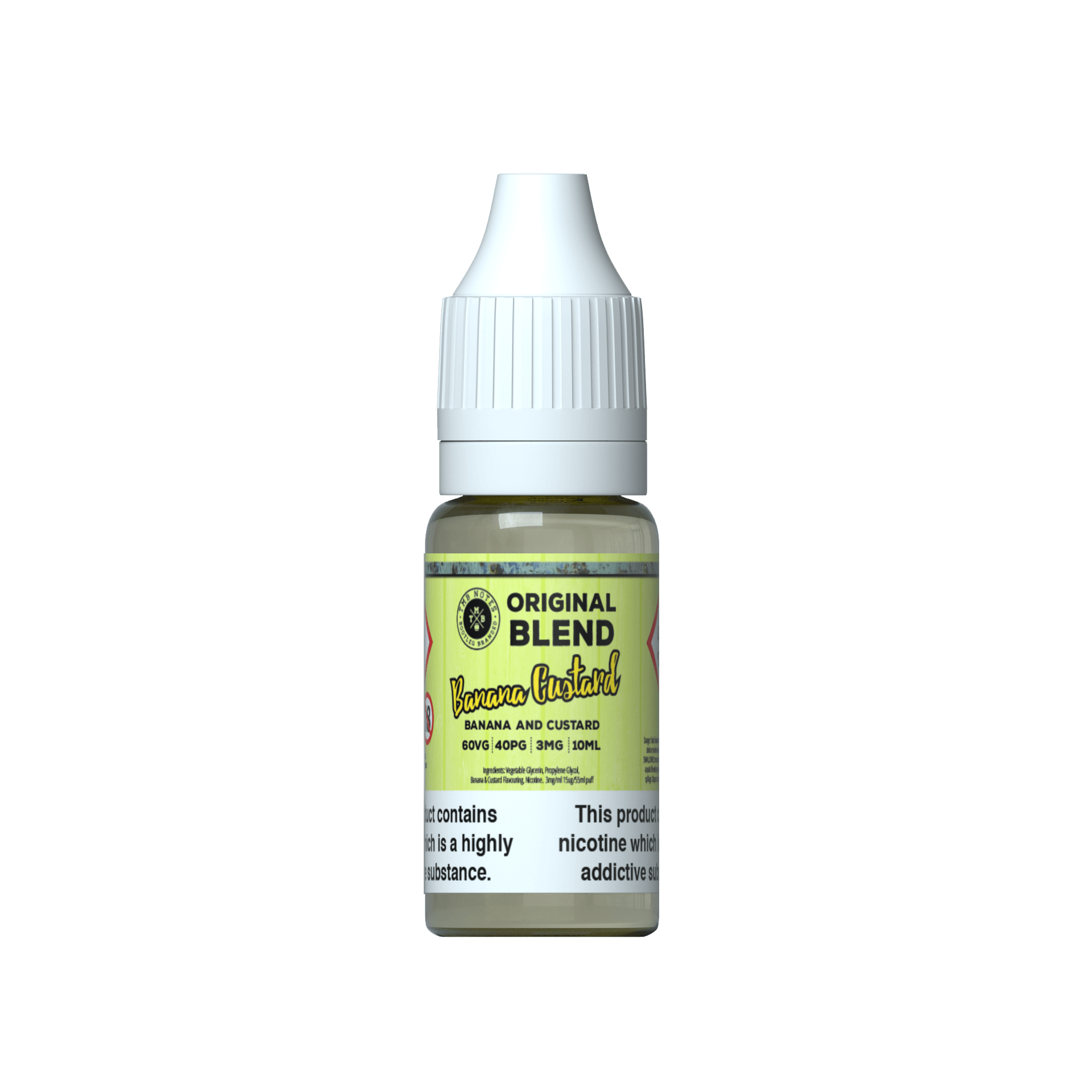 Banana Custard 10ml Original Blend