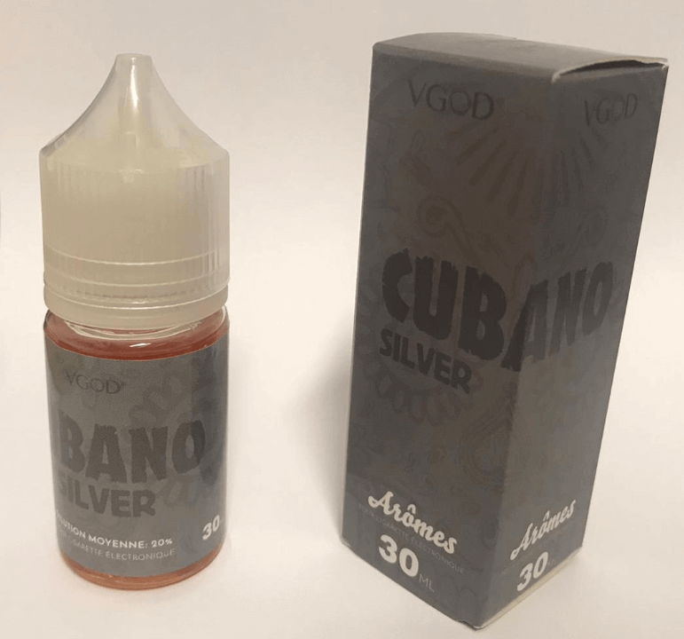 Cubano Silver 30ml Concentrate by VGod
