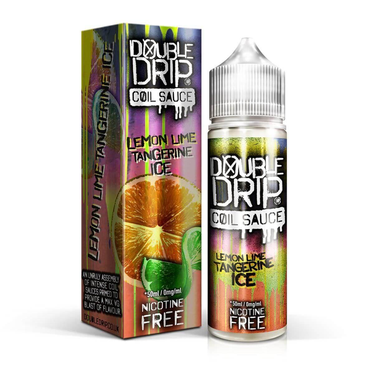 Lemon Lime Tangerine Ice 0mg Shortfill By Double Drip
