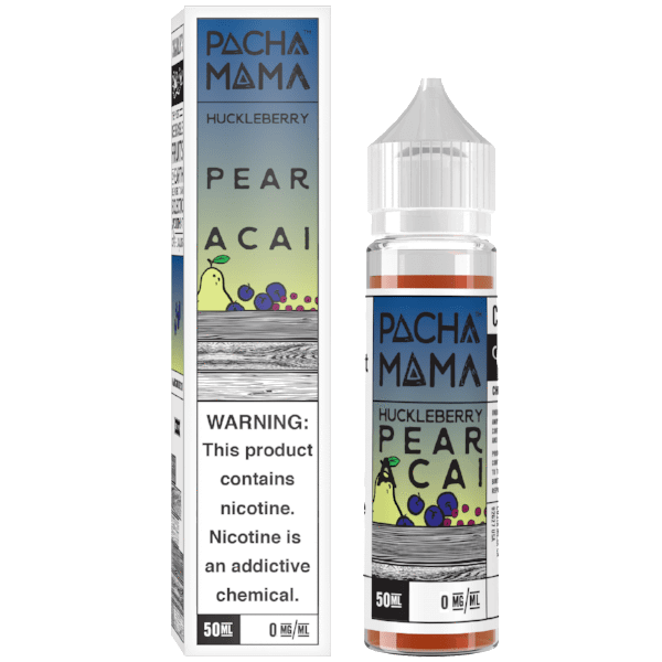 Pacha Mama Huckleberry Pear Acai 50ml short fill