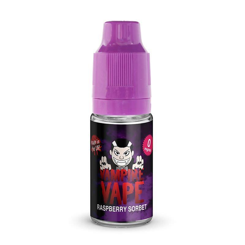 Vampire Vape Raspberry Sorbet 10ml E-Liquid
