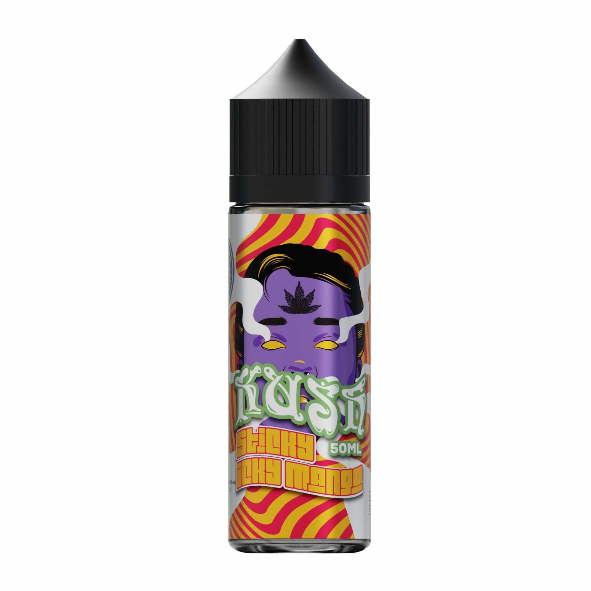 Sticky Icky Mango Kush Range 0mg Short Fill E Liquid