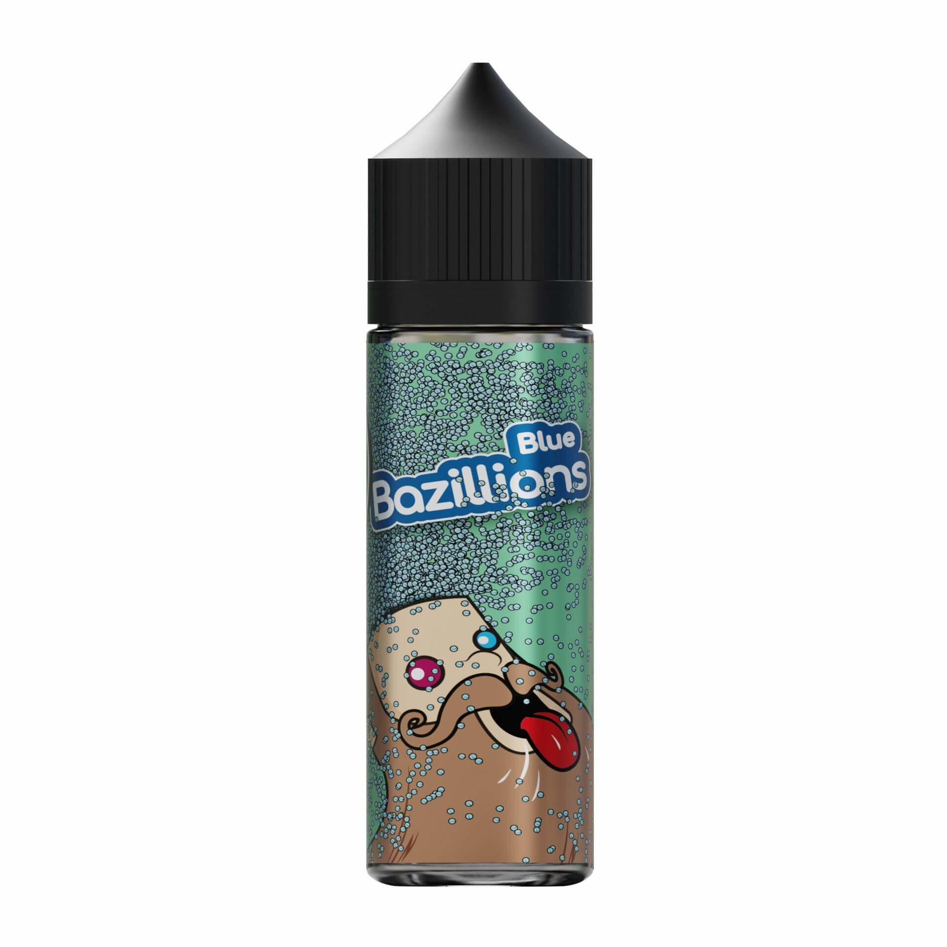 Blue Bazillions Range 0mg Short Fill E Liquid