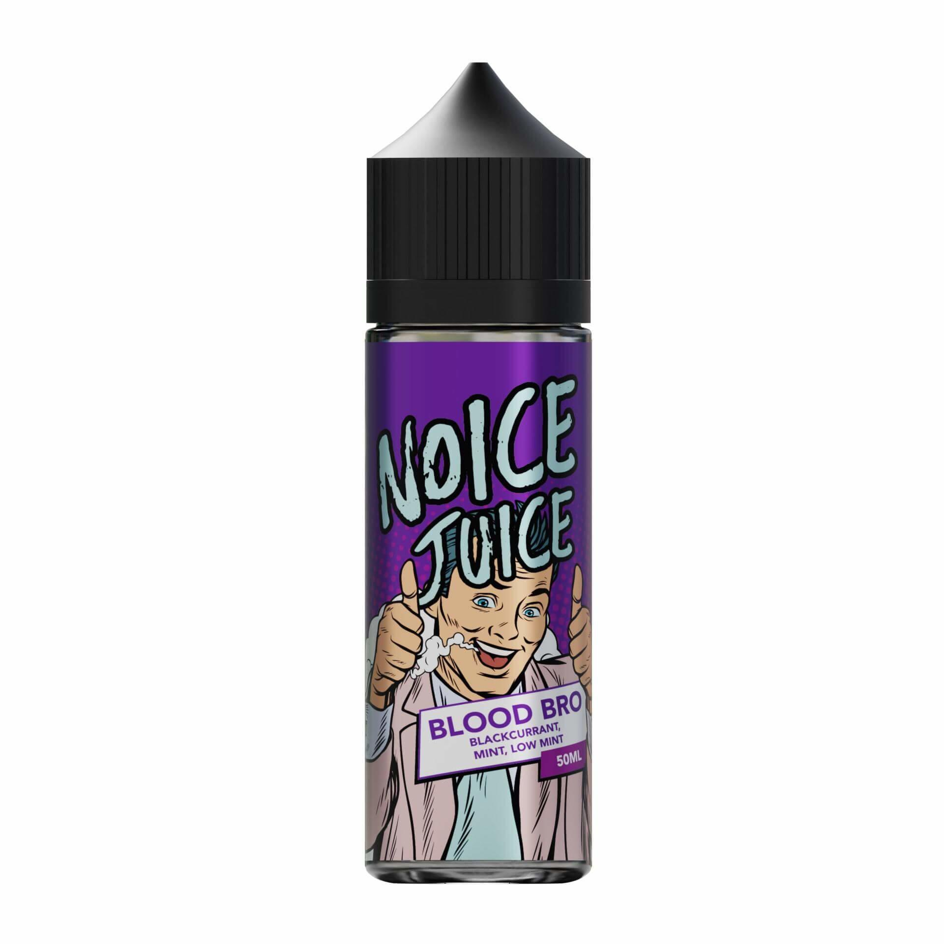 Blood Bro Noice Range 0mg Short Fill E Liquid
