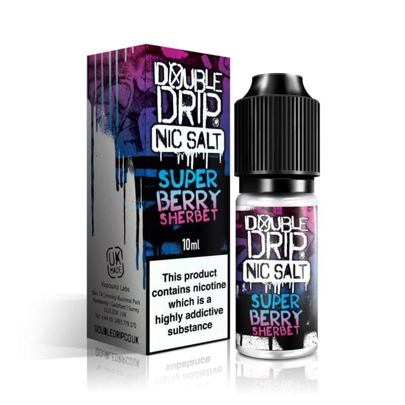 Super Berry Sherbet 10ml Double Drip Nic Salts