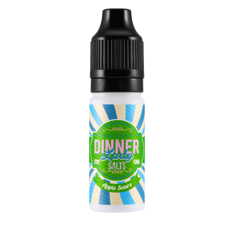 Apple Sours 10ml Dinner Lady Nic Salts