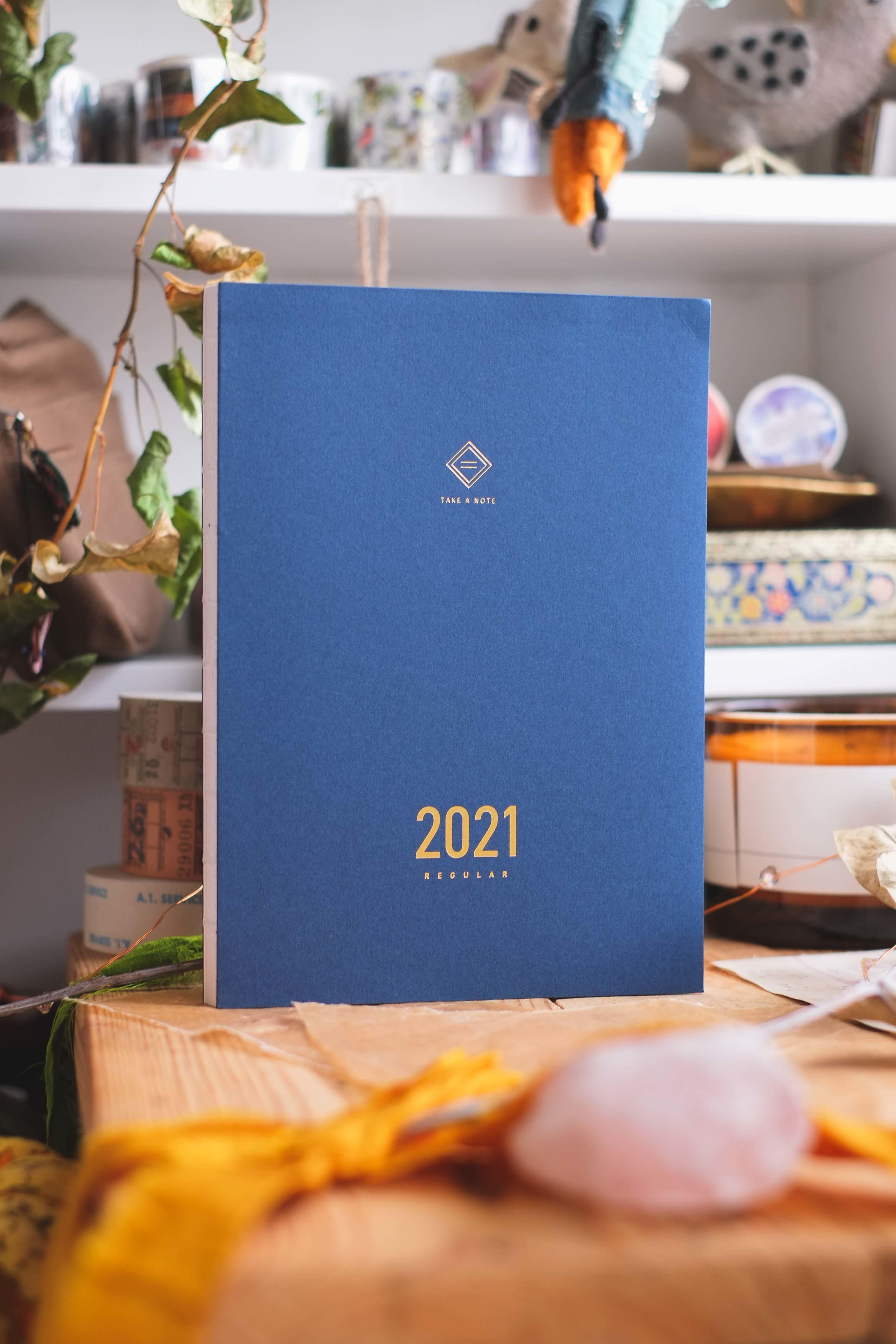 Take a Note 2021 A5 regular planner - English version ...