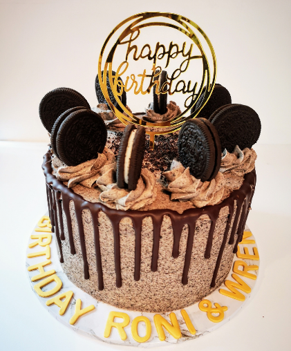 oreo drip cake personalised south london delivery