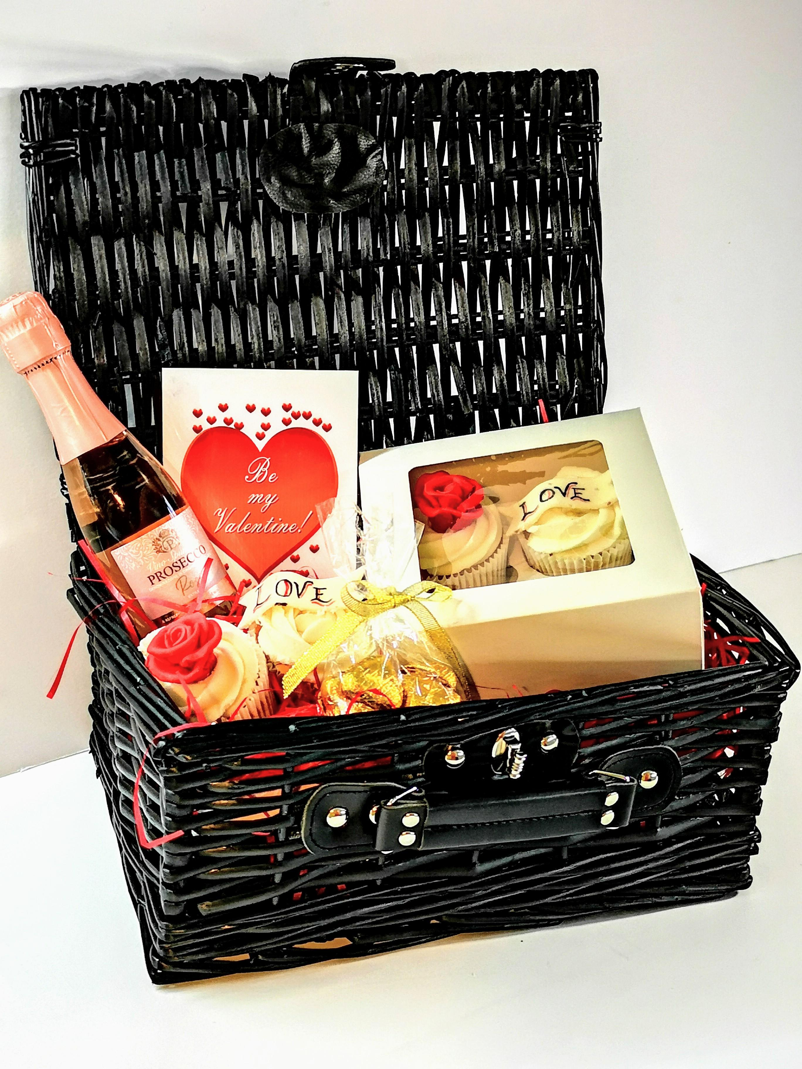 valentines cupcake hamper london delivery